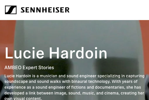 Article de presse site Sennheiser